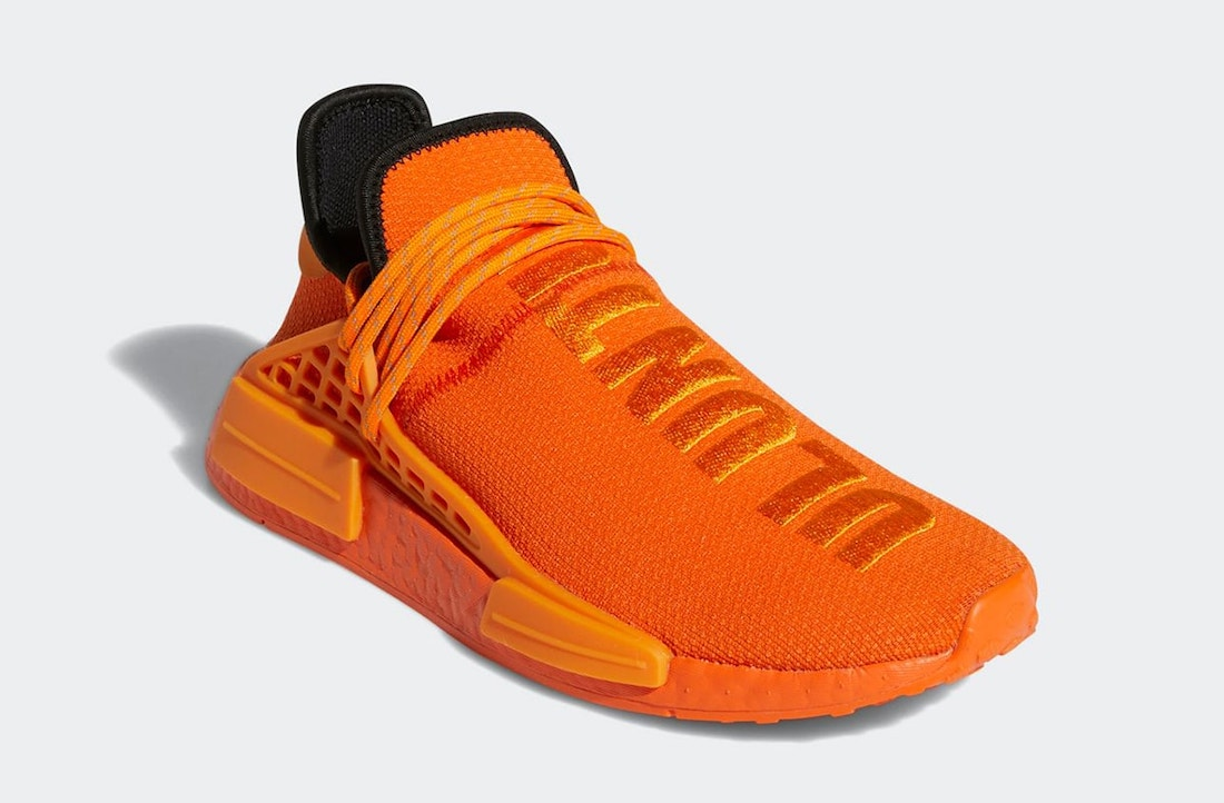 Pharrell adidas NMD Hu Orange GY0095 Release Date Price
