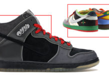 Image of one of the most coveted Nike SBs, the What The Dunk low.