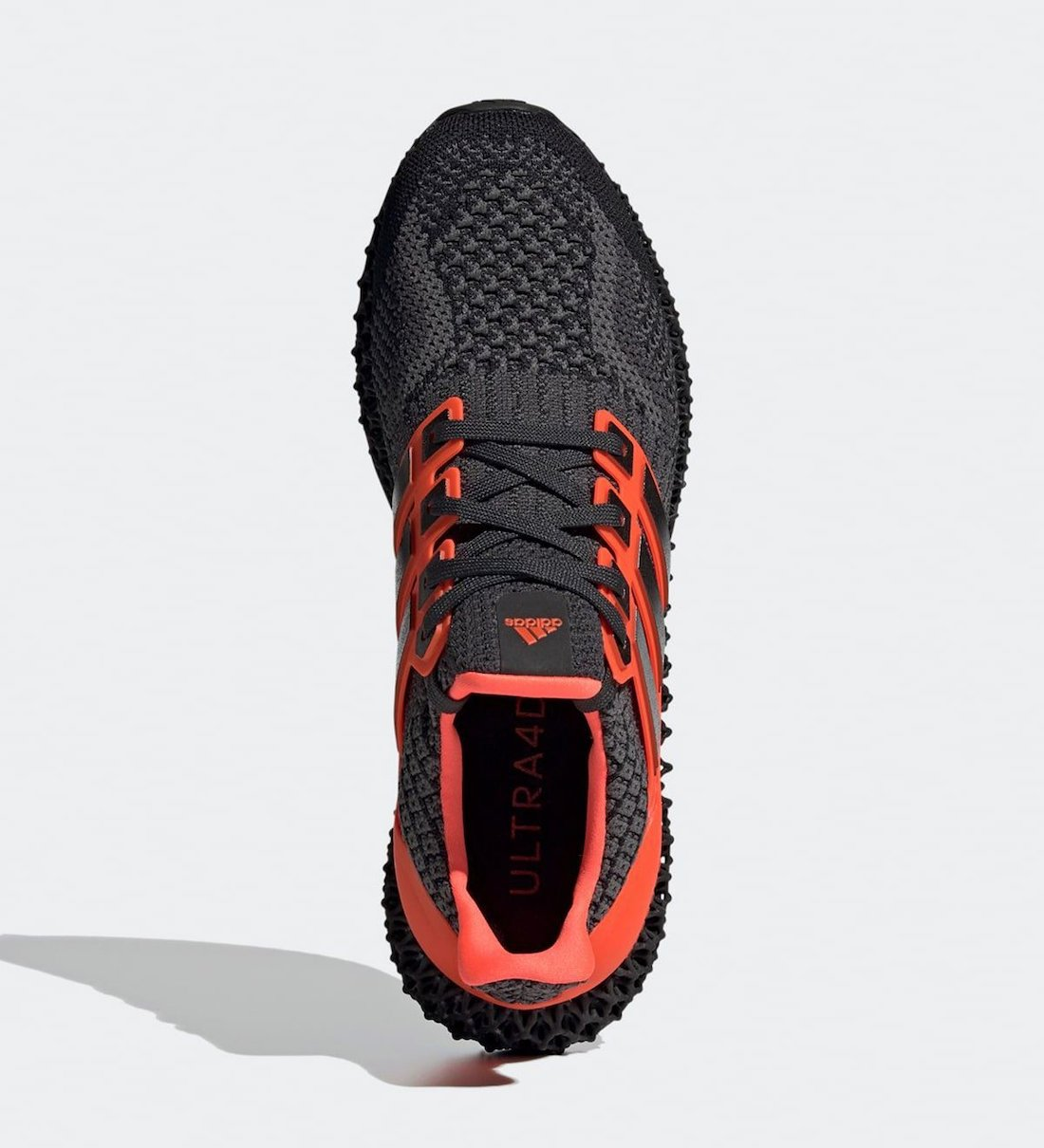 adidas Ultra 4D Core Black Solar Red G58159 Release Date