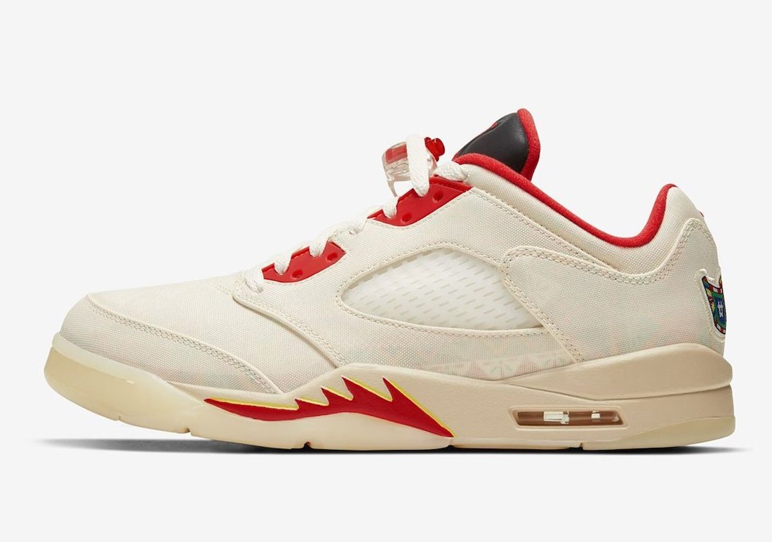 Air Jordan 5 Low CNY Chinese New Year DD2240-100 Release Date