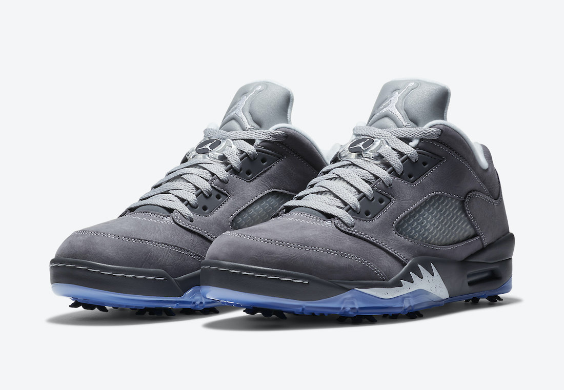 Air Jordan 5 Low Golf Wolf Grey CU4523-005 Release Date