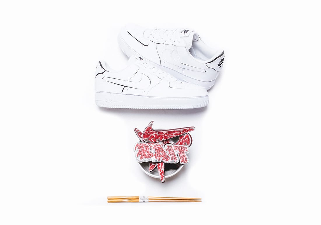 BAIT Nike Air Force 1 A5 Wagyu Release Date