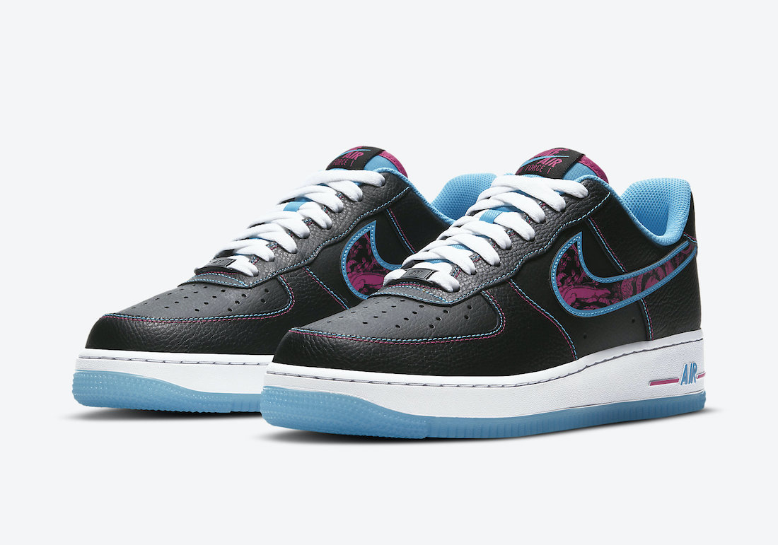 Nike Air Force 1 Low Miami Nights DD9183-001 Release Date
