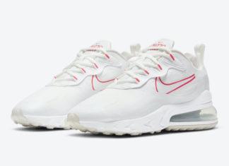 Nike Air Max 270 React White Pink CV8818-101 Release Date