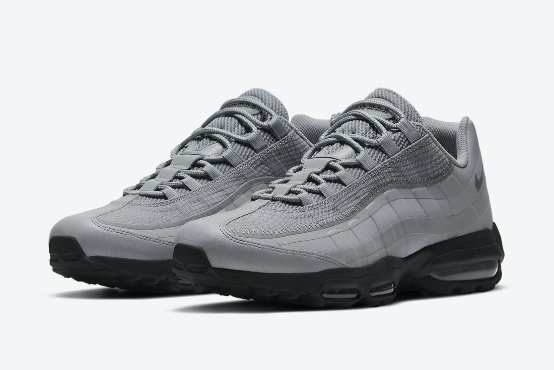 Nike Air Max 95 Ultra Grey Reflective DJ4284-002 Release Date