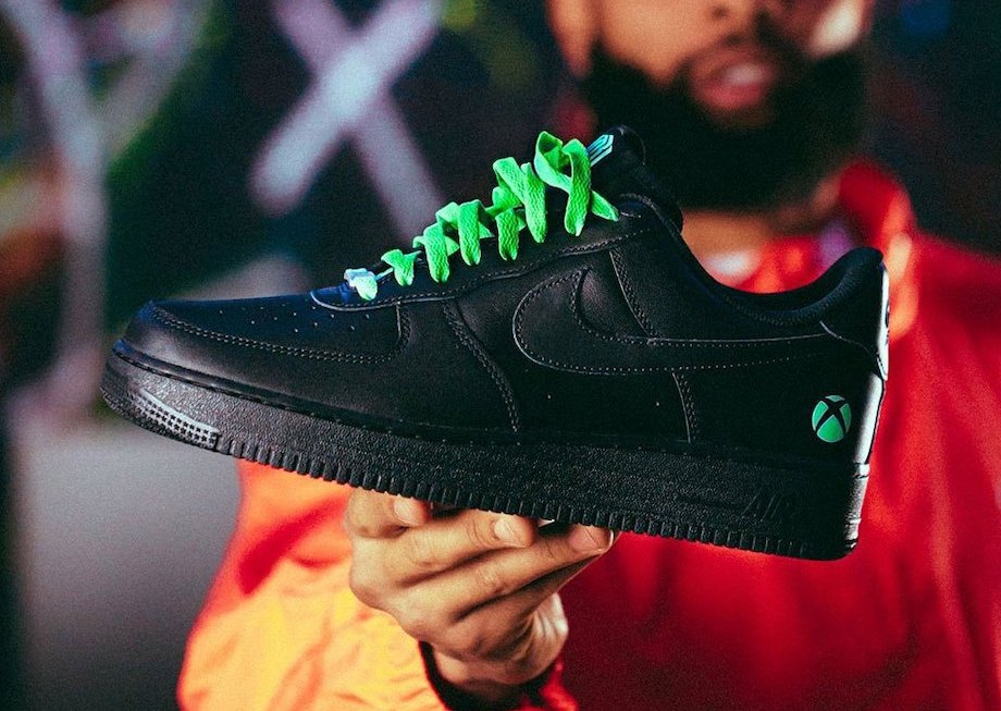 OBJ Xbox Nike Air Force 1 Power Your Dreams Release Date