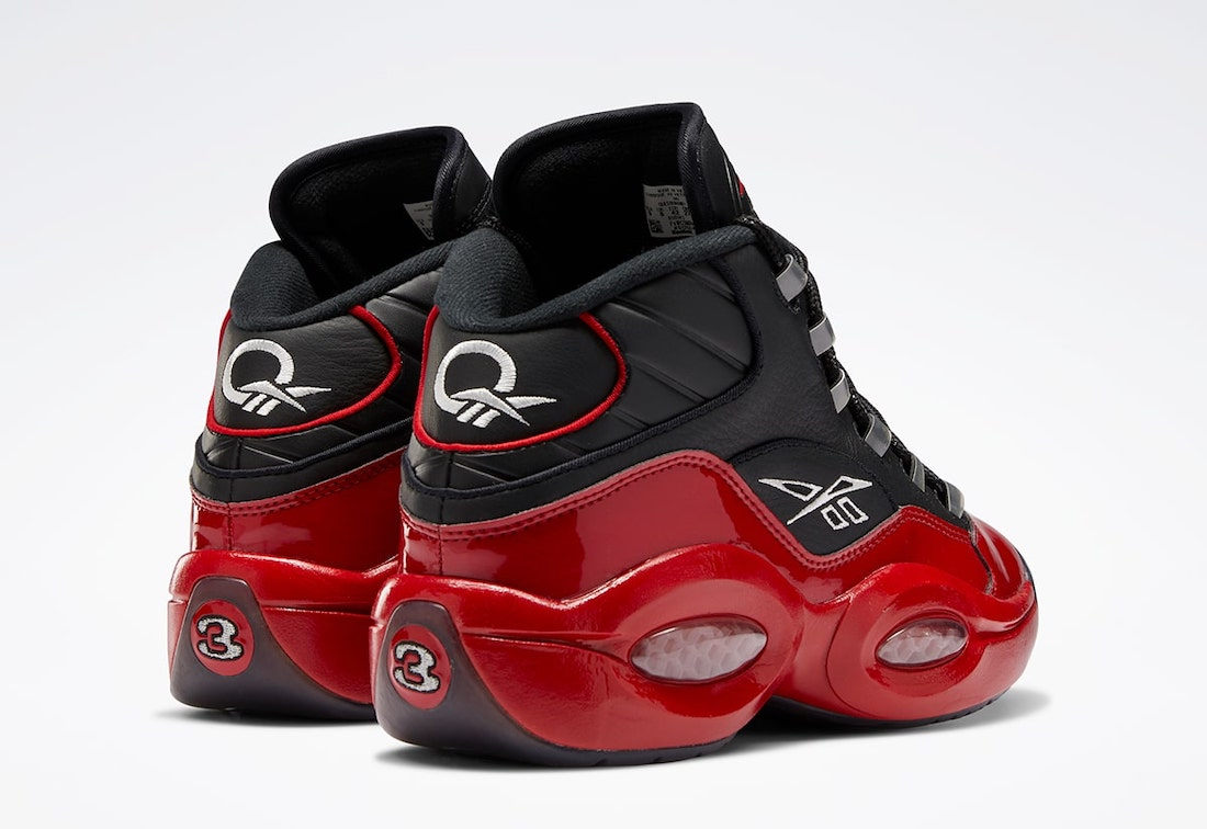 Reebok Question Mid 76ers Red Patent G57551 Release Date