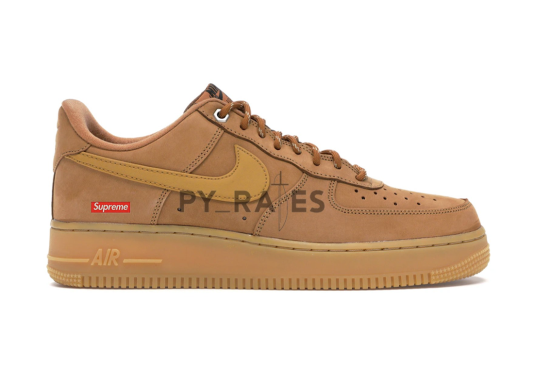 Supreme Nike Air Force 1 Low Flax Release Date