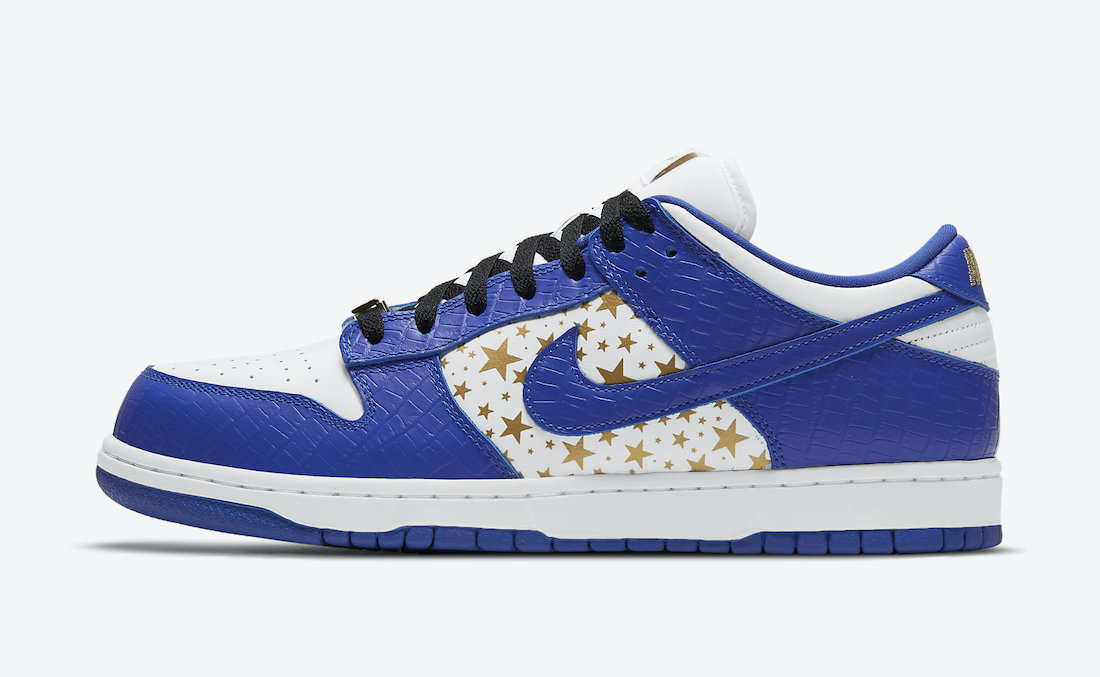 Supreme Nike SB Dunk Low Hyper Blue DH3228-100 Release Date Price