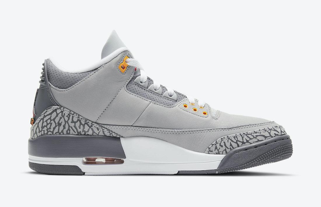 Air Jordan 3 Cool Grey CT8532-012 Release Date Price