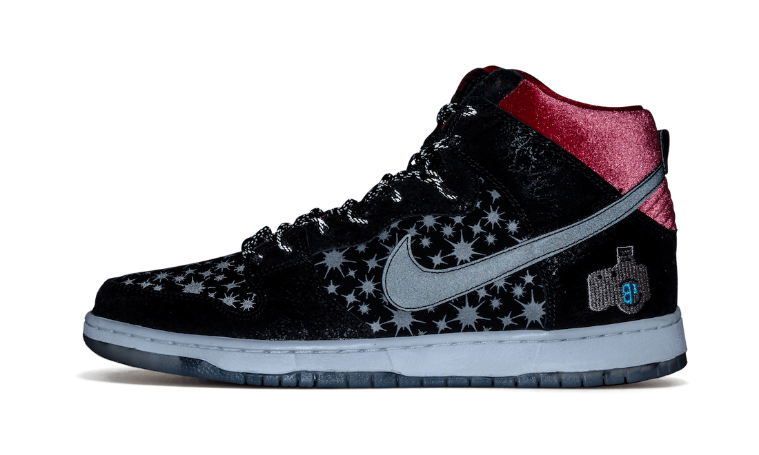 Brooklyn Projects Nike SB Dunk High Paparazzi 707424-026 2014 Release Date