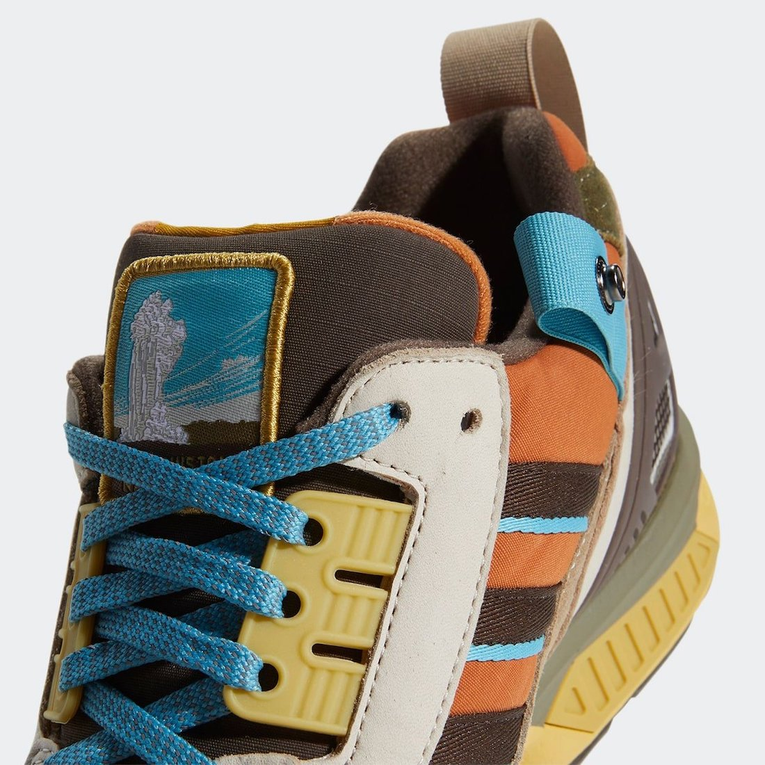 National Park Foundation adidas ZX 8000 Yellowstone FY5168 Release Date