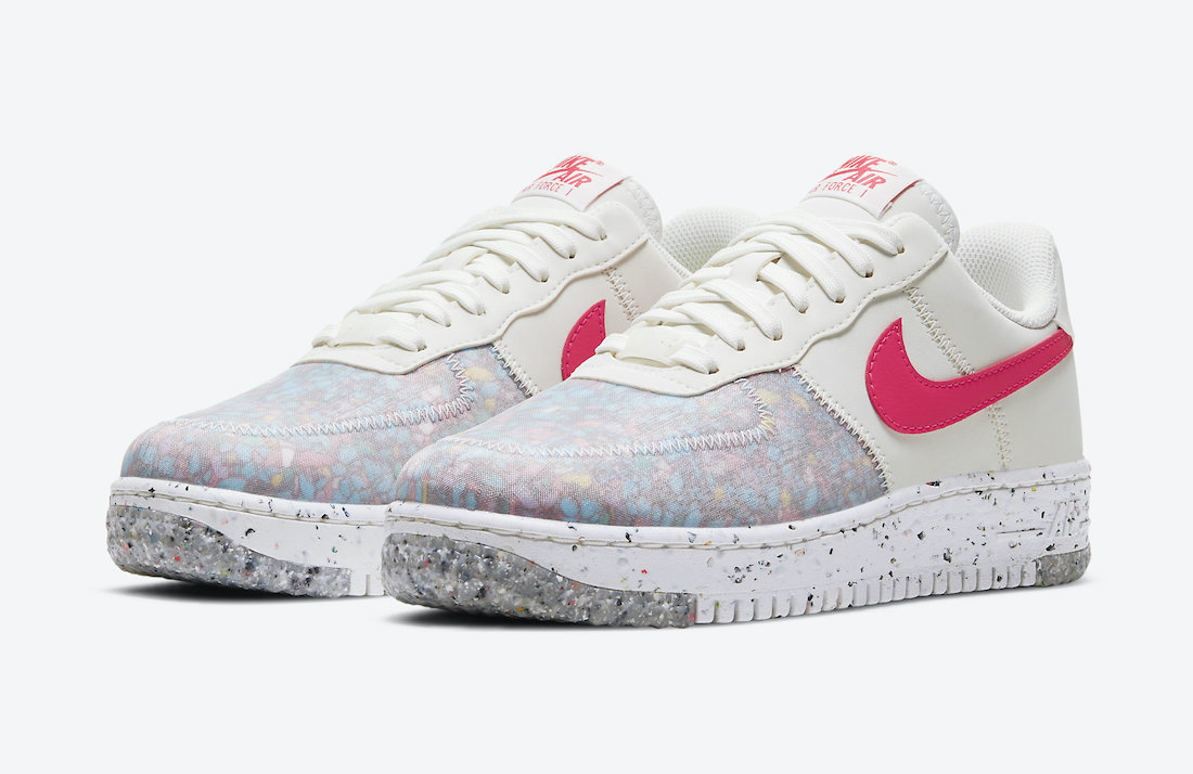 Nike Air Force 1 Crater Siren Red CT1986-101 Release Date