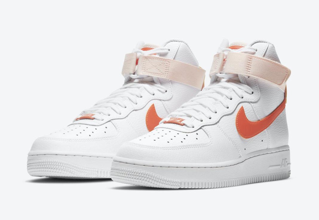 Nike Air Force 1 High Orange Pearl 334031-118 Release Date