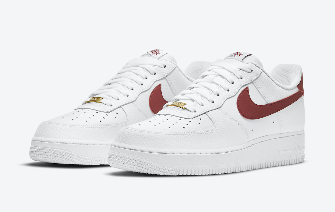 Nike Air Force 1 Low Team Red CZ0326-100 Release Date