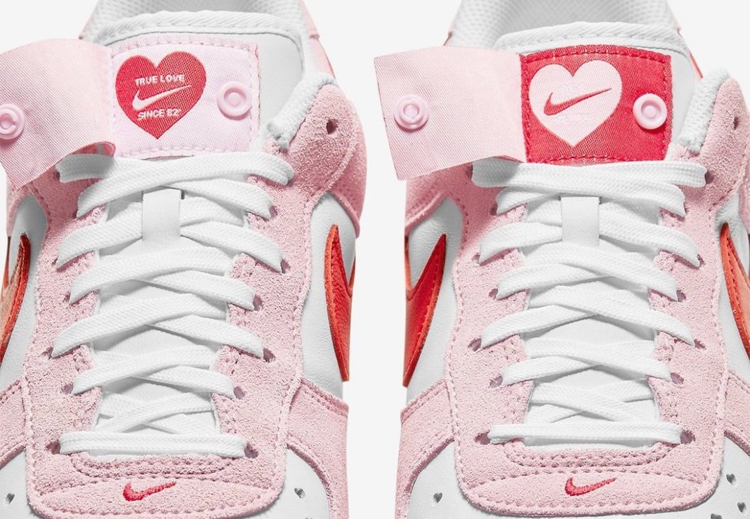Nike Air Force 1 Low Valentines Day DD3384-600 Release Date