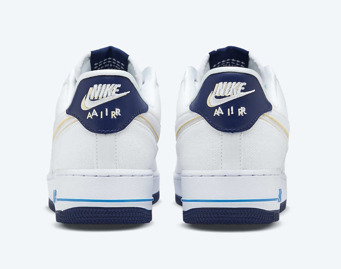 Nike Air Force 1 Low White Canvas DB3541-100 Release Date