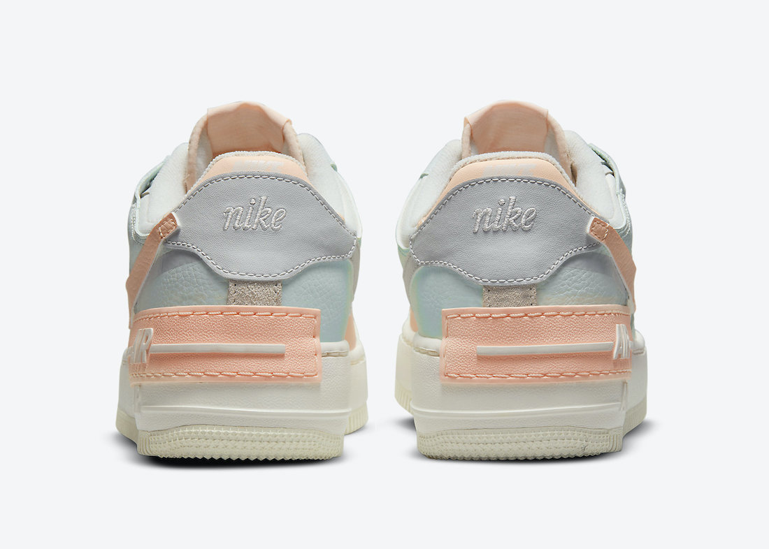 Nike Air Force 1 Shadow Barely Green Crimson Tint CU8591-104 Release Date