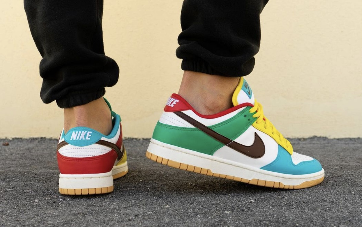 Nike Dunk Low Free 99 White DH0952-100 Release Date On-Feet