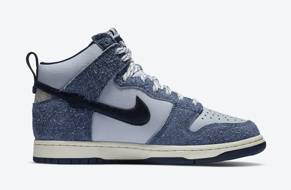 Notre Nike Dunk High Midnight Navy CW3092-400 Release Date