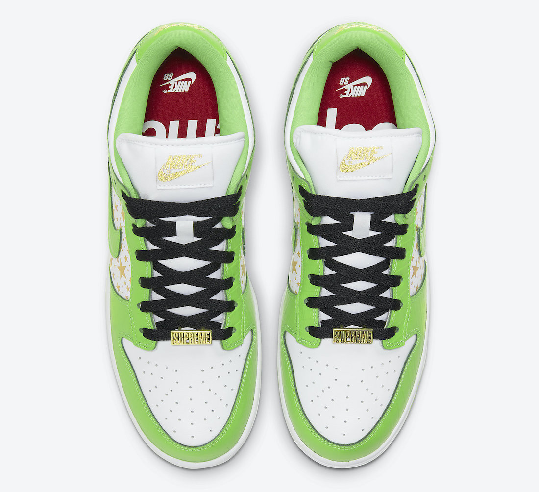 Supreme Nike SB Dunk Low Mean Green DH3228-101 Release Date Price