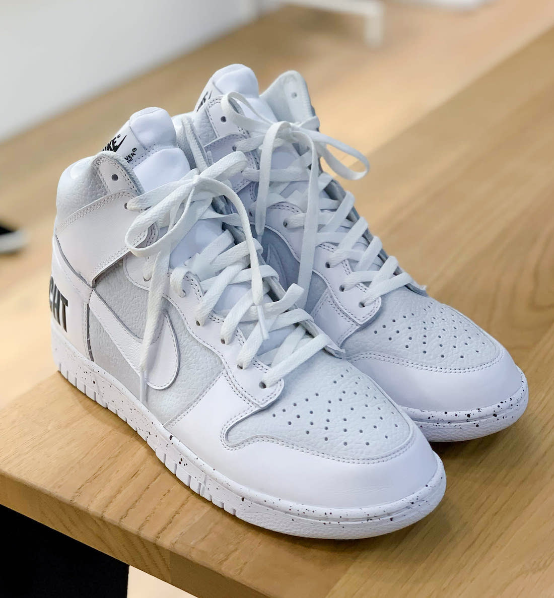 Undercover Nike Dunk High Chaos White Release Date