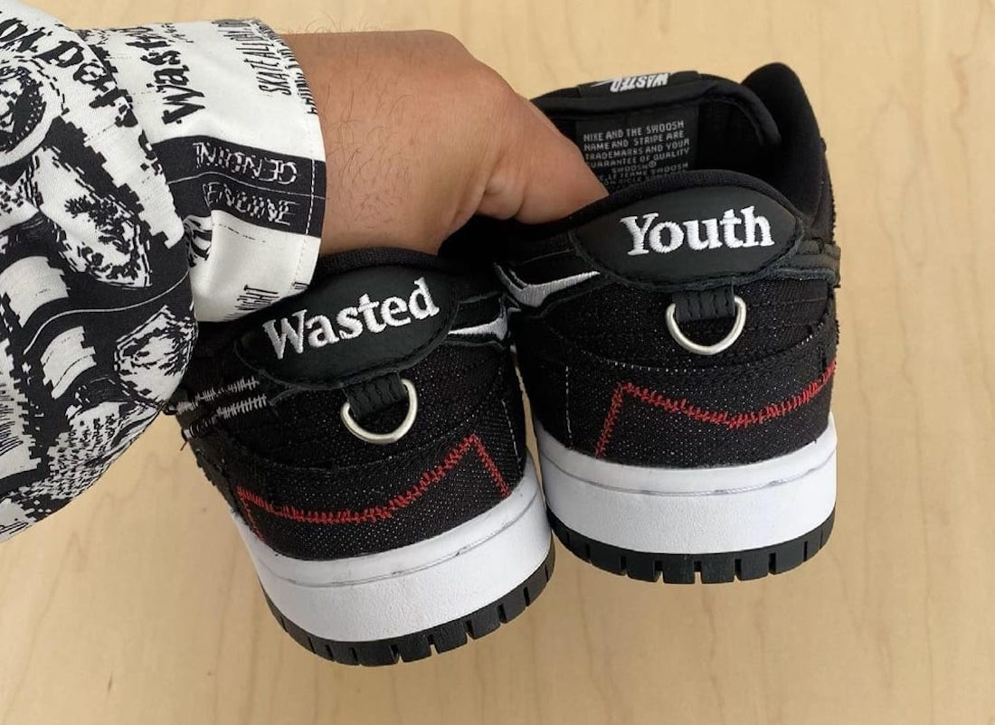Wasted Youth x Nike SB Dunk Low DD8386-001 Release Date