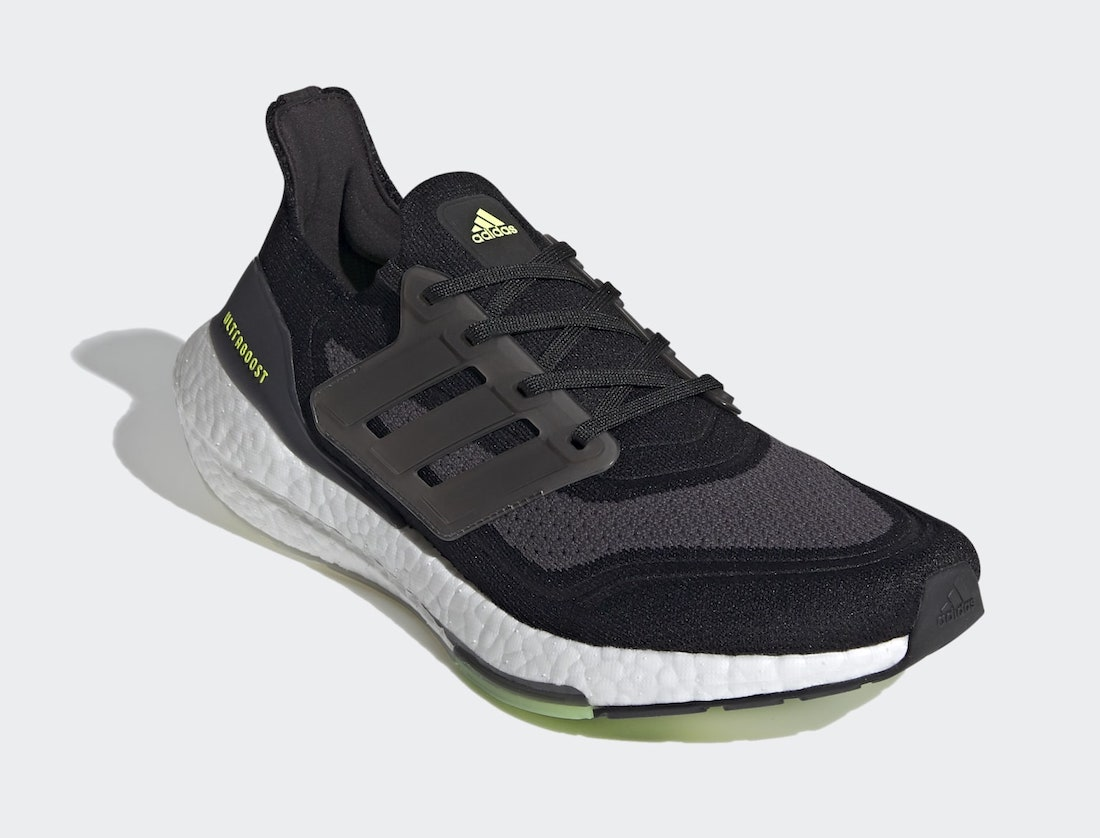 adidas Ultra Boost 2021 Black Solar Yellow FY0374 Release Date