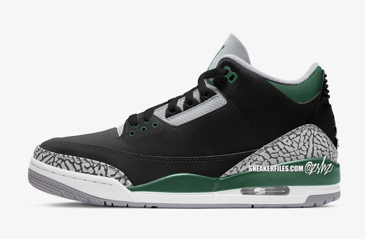 Air Jordan 3 Pine Green CT8532-030 Release Date