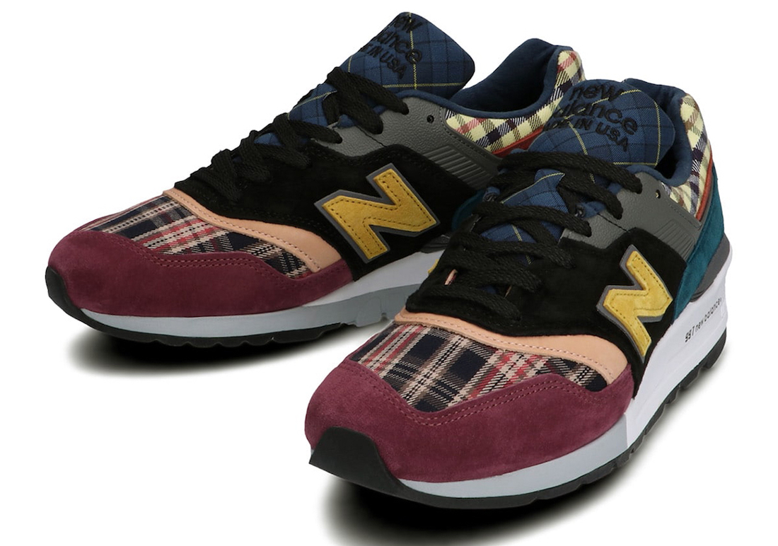 New Balance 997 Plaid Pack Release Date