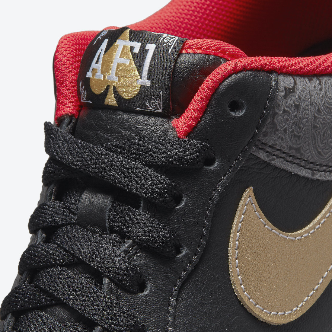 Nike Air Force 1 Low Spades King Queen DJ5184-001 Release Date