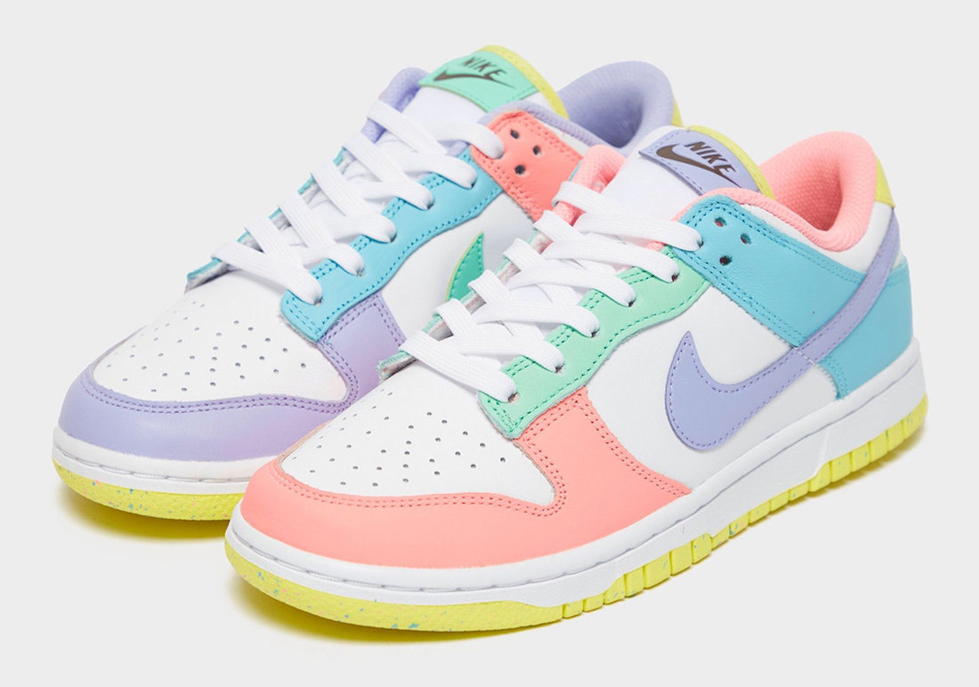 Nike Dunk Low Light Soft Pink Ghost Lime Ice White DD1503-600 Release Date