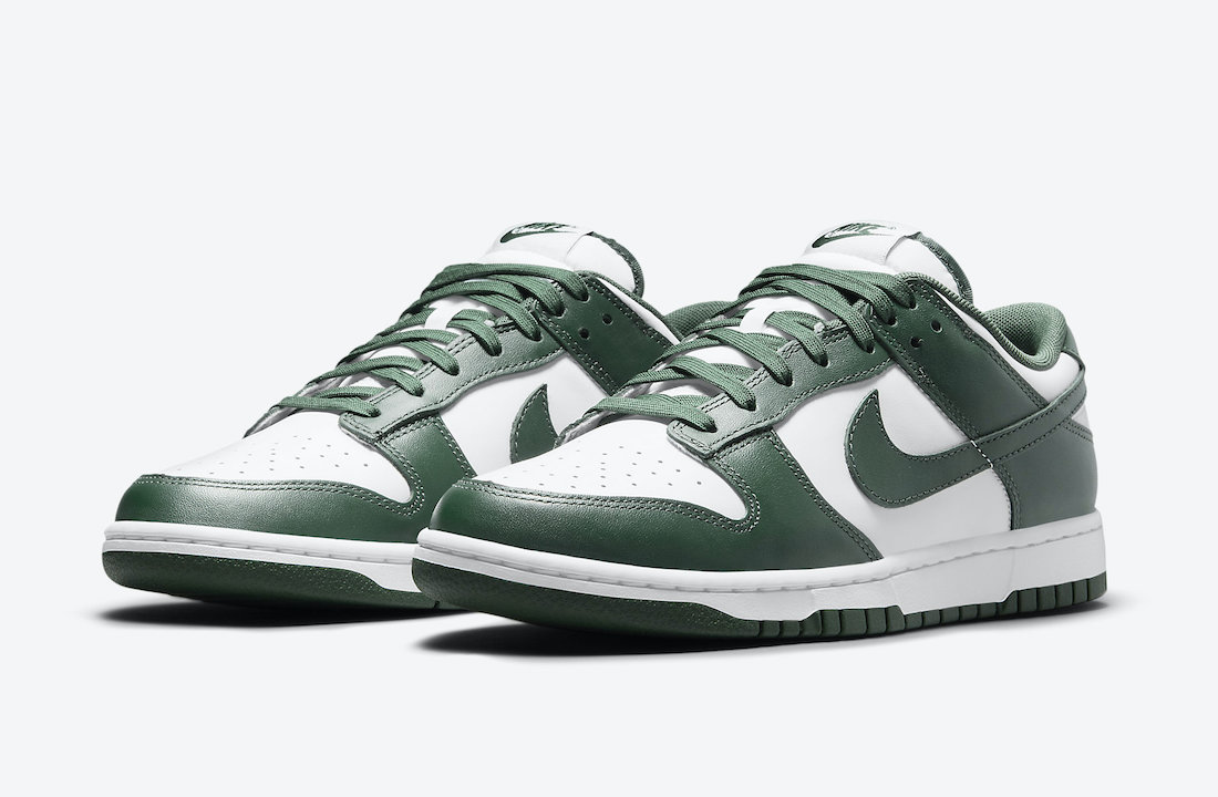 Nike Dunk Low Team Green DD1391-101 Release Date Price