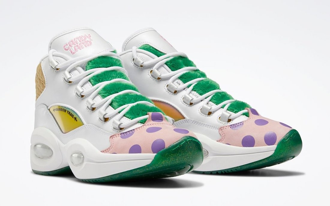 Reebok Question Mid Candy Land GZ8826 Release Date