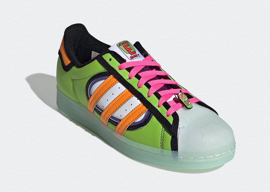 The Simpsons adidas Superstar Squishee H05789 Release Date