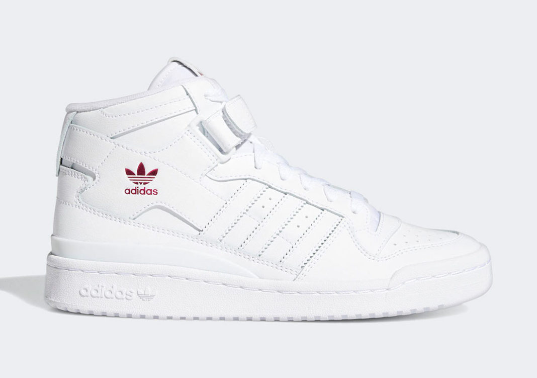 adidas Forum Mid Cloud White Shock Pink G57984 Release Date