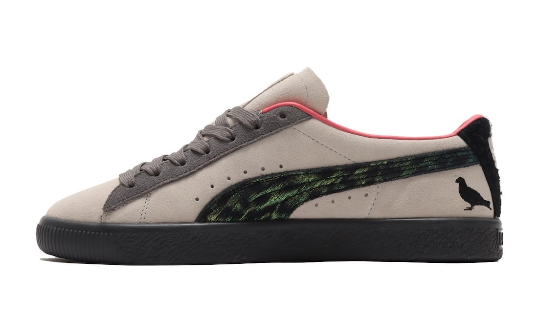atmos Staple PUMA Suede Pigeon Crow Release Date