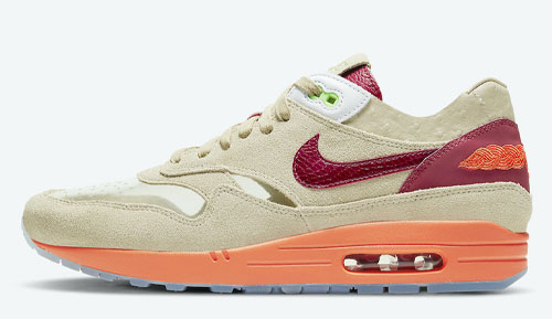 clot nike air max 1 kiss of death official release dates 2021 1