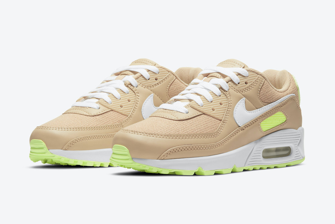 Nike Air Max 90 Sesame Barely Volt DD9677-200 Release Date