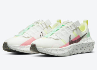Nike Crater Impact Green Glow Sunset CW2386-101 Release Date