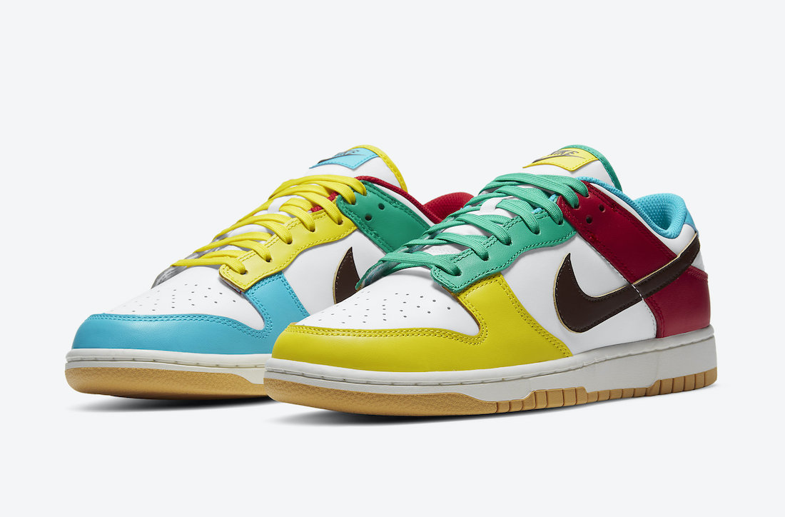 Nike Dunk Low Free 99 White DH0952-100 Release Date