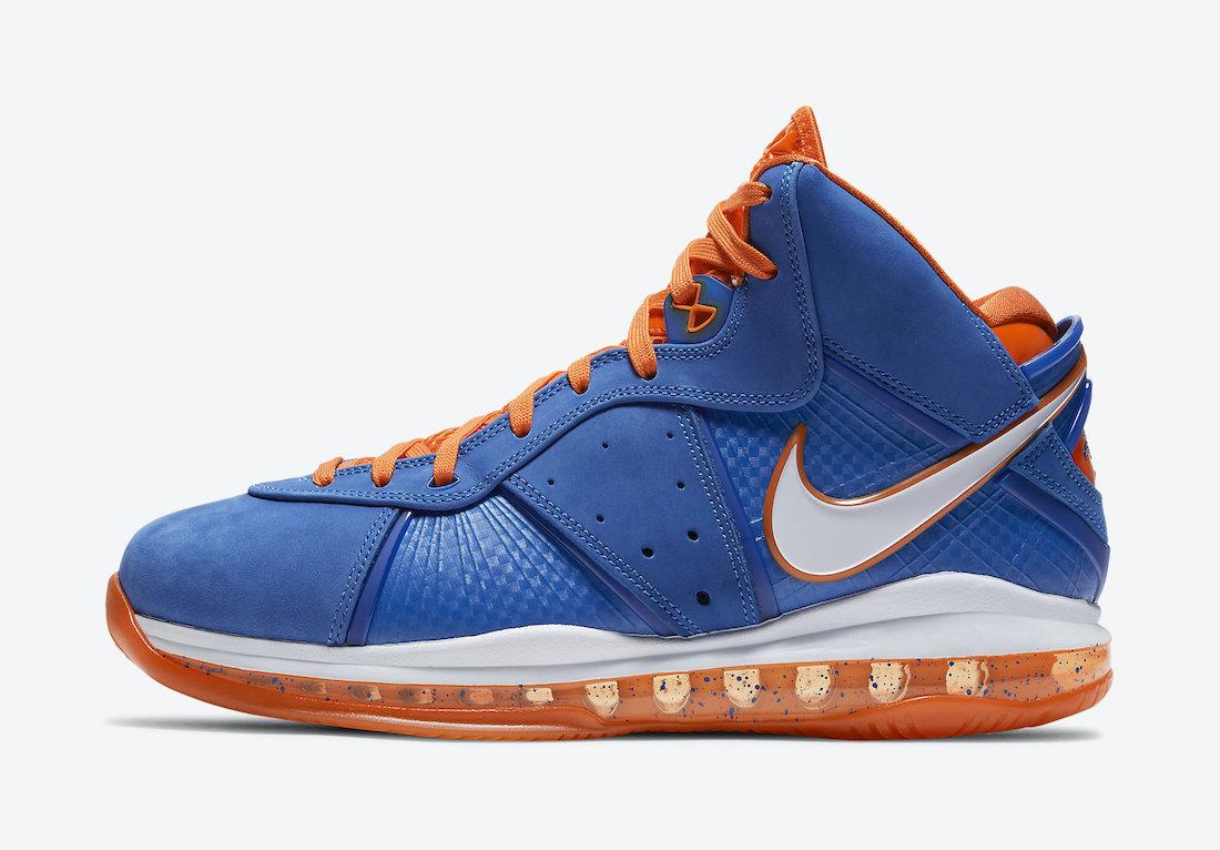Nike LeBron 8 HWC Hardwood Classic CV1750-400 2021 Release Date Price