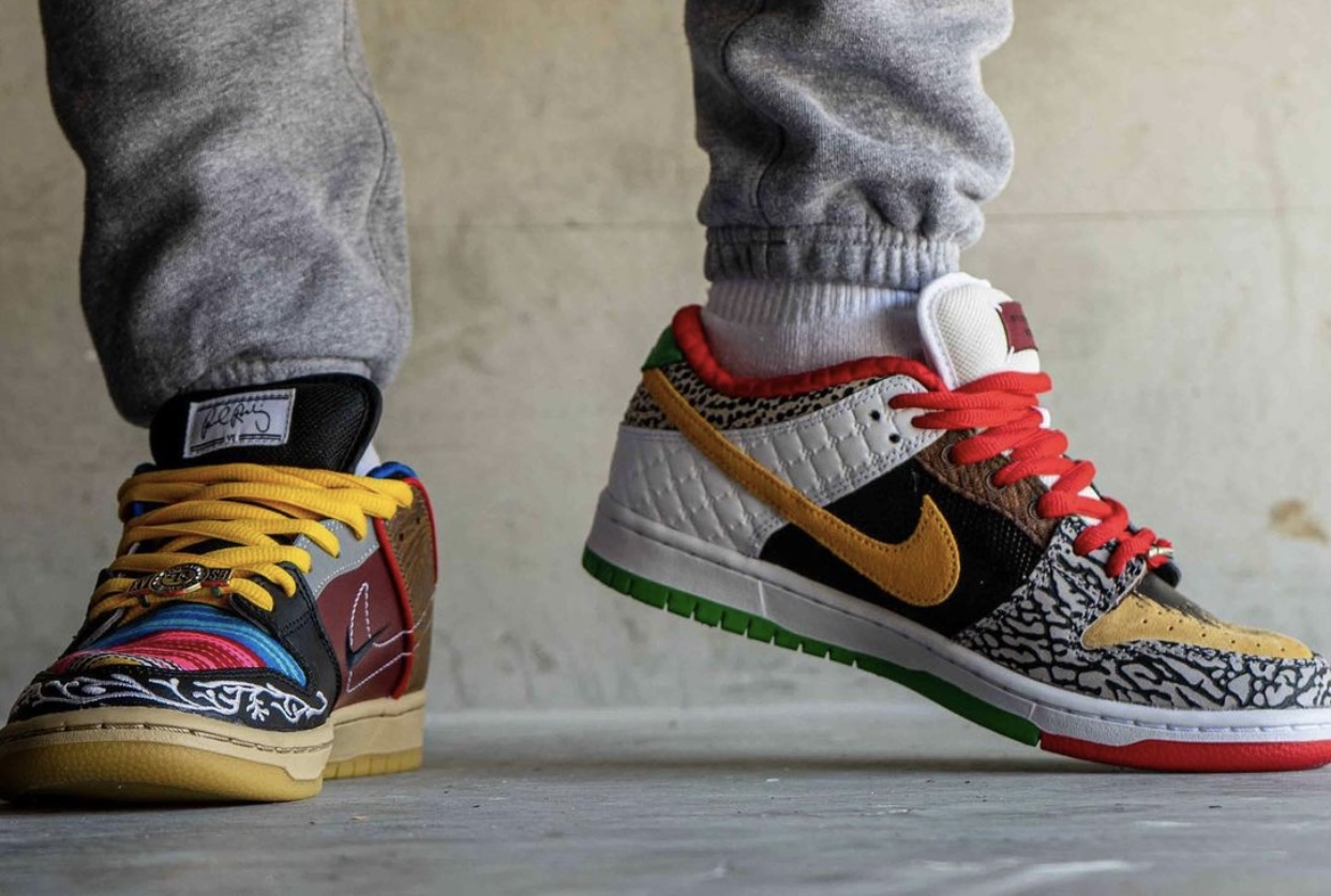 Nike SB Dunk Low What The P-Rod CZ2239-600 Release Date On-Feet