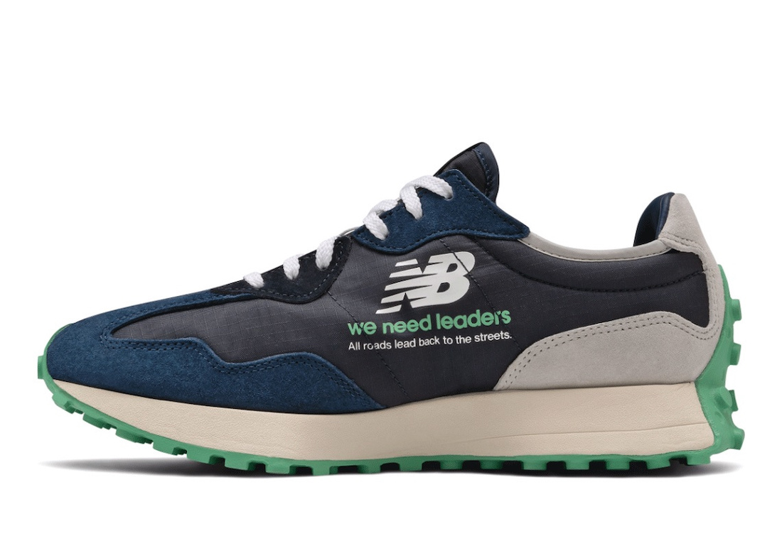 Public School Chow New Balance 327 We Need Leaders Release Date