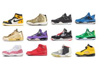 Sothebys Scarce Air Sneaker Auction