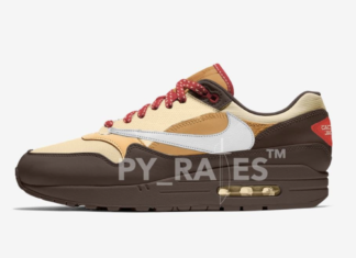 Travis Scott Nike Air Max 1 Release Date