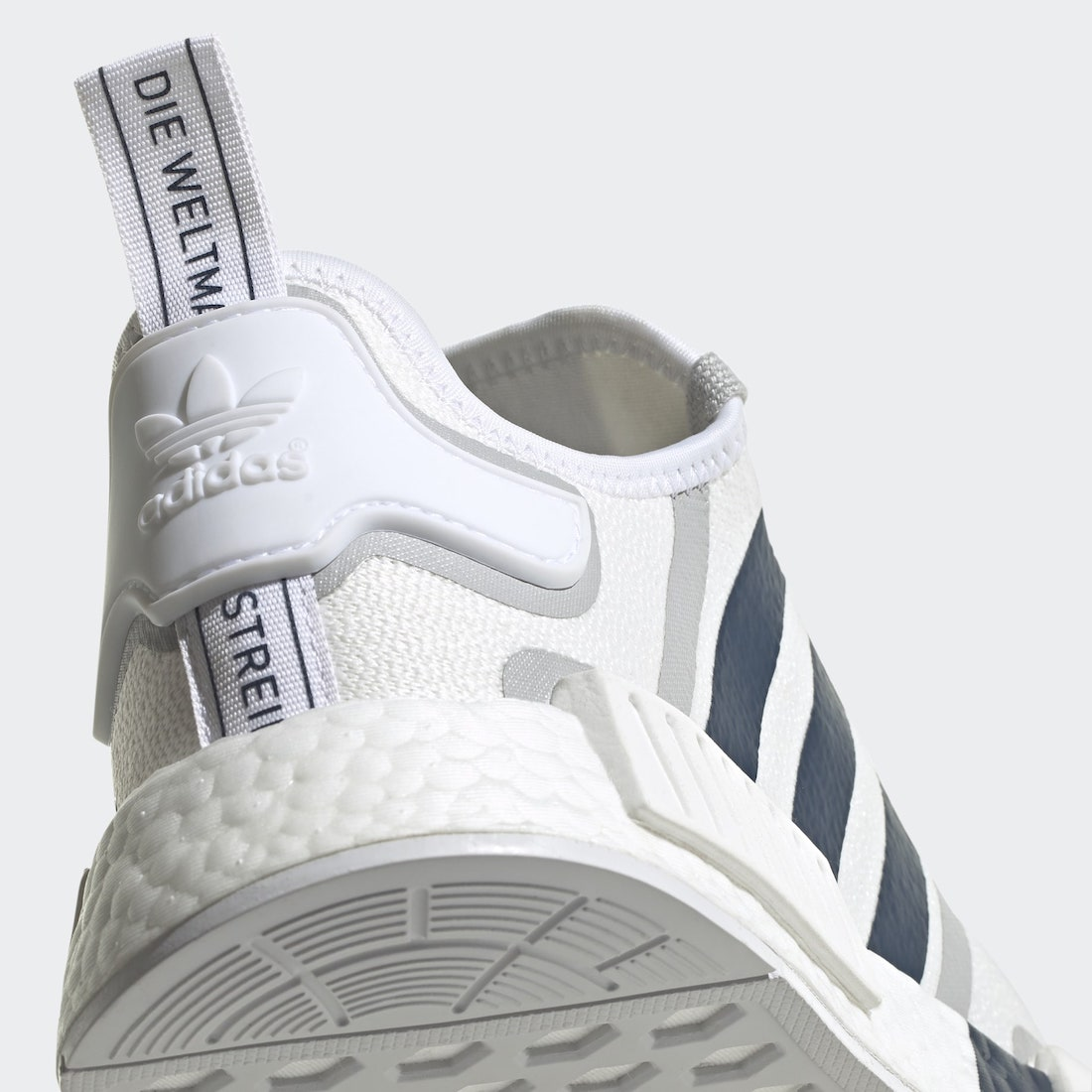 adidas NMD R1 White Crew Navy Grey G55576 Release Date