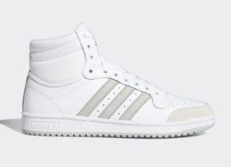 adidas Top Ten White Grey FY7096 Release Date