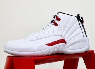 Air Jordan 12 Twist White Red Black CT8013-106 Release Date