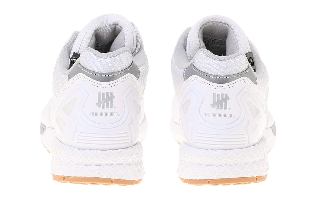 Neighborhood Undefeated adidas ZX 8000 White Gum Q47205 Release Date